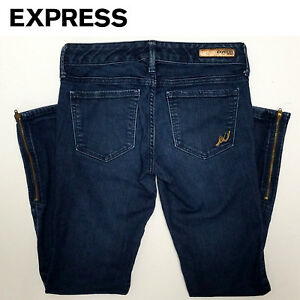 Womens-Jeans-Express-Sz-00-28x33-25-Ankle-Legging-Stella-Low-Rise-Fr-Ship-A