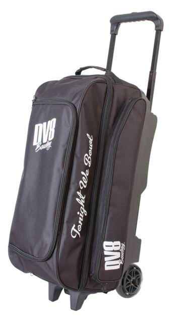Dv8 Freestyle Black 3 Ball Roller Bowling Bag