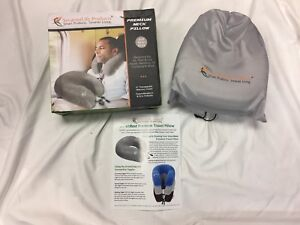 Smarterlife Premium Travel Neck Pillow With Pouch Cover