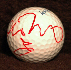 Hot-LPGA-Golfer-Belen-Mozo-Autograph-Hand-Signed-Golf-Ball