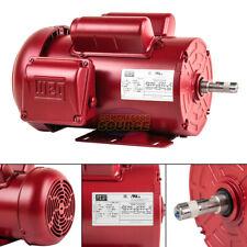 15 Hp Farm Duty Electric Motor 56h Frame 1745rpm Single Phase Tefc Weg 115230v