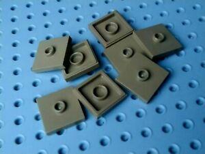 LEGO-plaque-Jumper-2x2-avec-1-Centre-Stud-87580-beige-fonce-x8