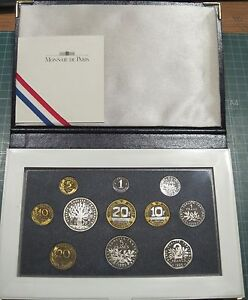 France - Coins IN Portfolio past Festive Gift- Year: 1995 - Number PS13 - Proof