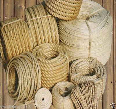 3-30mm Natural Jute Tu-go-fwar Binding Rope Braided Hemp Twisted Handwork 5m