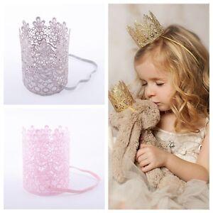 1X-Filles-Princesse-Bandeau-Bandeau-Couronne-Enfant-en-Bas-Age-Bande-Cheveux
