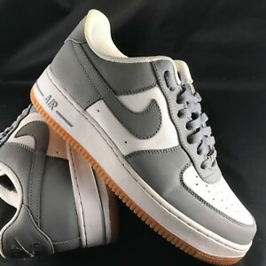 Details about NIKE AF1 82' AIR FORCE 1 iD GREY WHITE