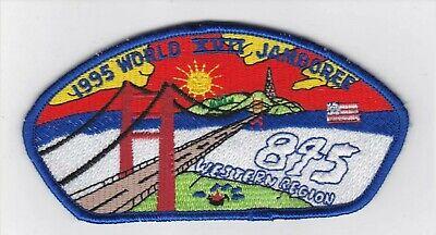 1995 18th World Jamboree Western Region Troop 845 BSA Boy Scout Scouts Patch