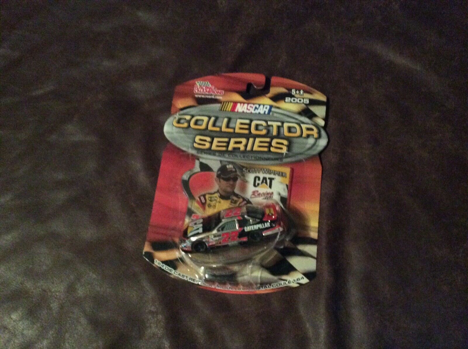 NASCAR COLLECTOR SERIES SCOTT WIMMER Chrome Chase