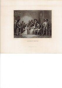 Révolution Française Carrier à Nantes gravure 1839 Johannot - France - Type: Gravure Genre: Classicisme Thme: Histoire, Guerre Support: Sur papier Période: XIXme et avant - France