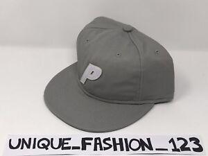 d8e05ac63b6 PALACE SKATEBOARDS SS15 STADIUM 6 PANEL CAMP BASEBALL CAP P HAT GREY ...