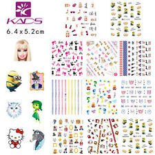 10 sheets/lot Cute Cartoon Water Transfer Decal Nail Art Sticker CZ61-70