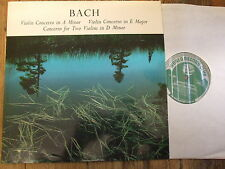 T 136 Bach Violin Concertos in A min, E maj, Double Concerto / Barchet