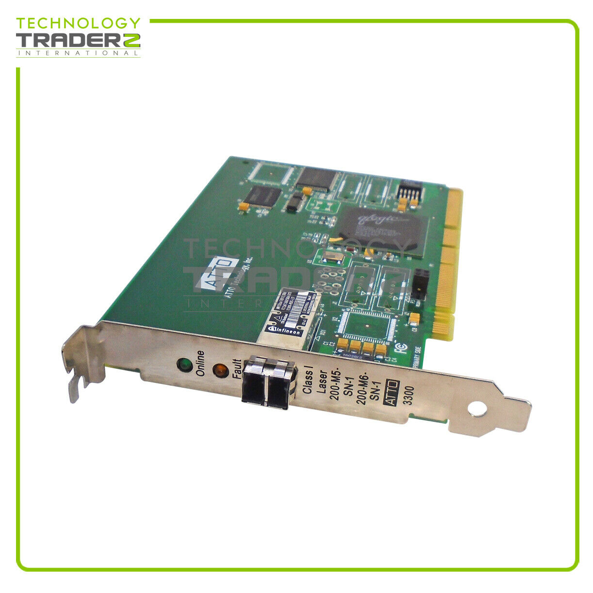 0030-03207-01 Atto 3300 2G Fibre Channel Host Bus Adapter * Pulled *