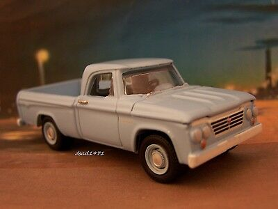 CLASSIC 1963 63 DODGE D-100 SWEPTLINE PICKUP TRUCK COLLECTIBLE MODEL - DIORAMA