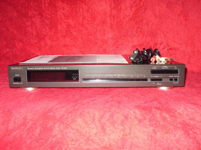 Technics ST-610 Quartz Synthesizer AM-FM Stereo Tuner