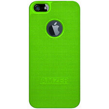 Amzer Snap On Case - Neon Green For Apple iPhone SE 5S 5