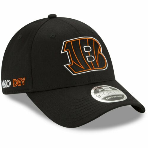 New Era 9FORTY Stretch Cap 2020 DRAFT Cincinnati Bengals