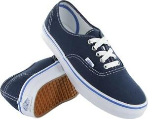 77449866d3 Image is loading Vans-Authentic-Dress-Blue-Nautical-Blue-VN-0-