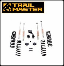 Trail Master 3.0 Inch Lift Kit w/ Shocks for 07-16 Jeep JK Wrangler 4 Door