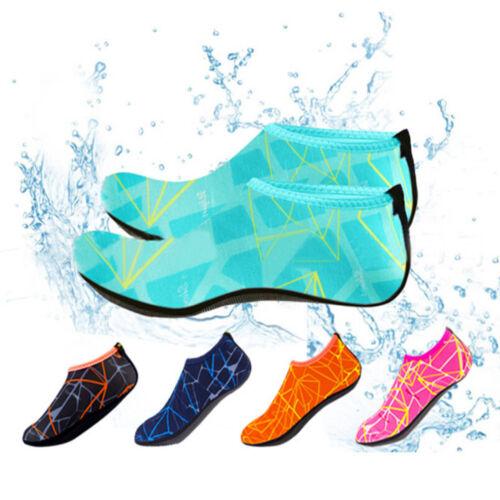 US Unisex Barefoot Water Skin Shoes Aqua Socks for Beach Swim Surf Yoga Exercise
