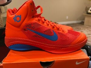 Image is loading Nike-Kevin-Durant-KD-Promo-Sample-Hyperfuse-Creamsicle- 3a3fadaca