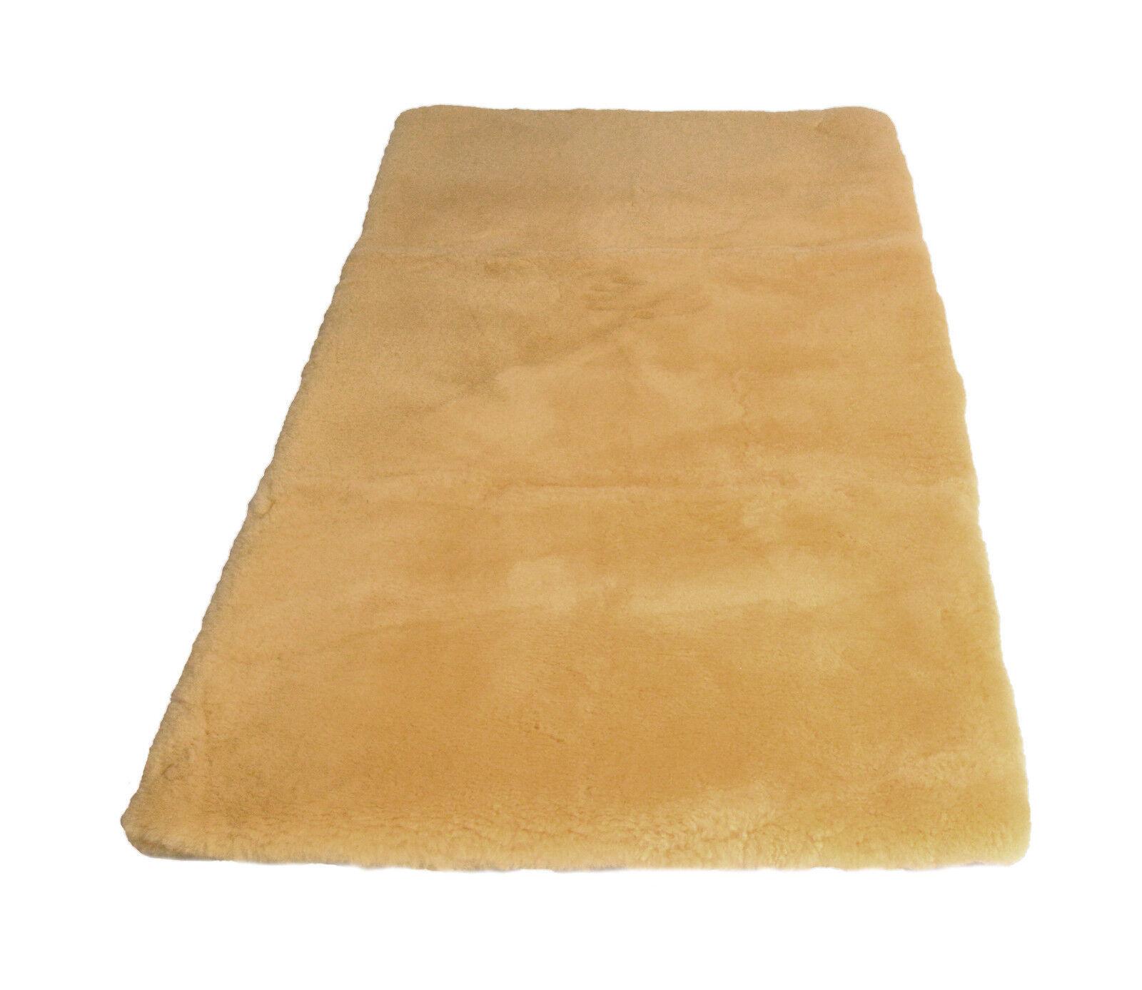 Bettfell   Bettauflage medizinisches Lammfell 160cm x 80cm + GRATIS Waschmittel