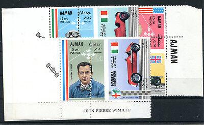 2/1434 ZuverläSsig Manama Aus 369-374 Postfrisch 3 Starke Verzähnungen Autos ..........