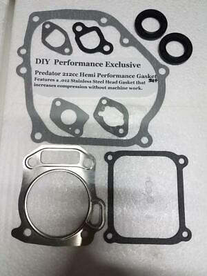 Predator 212 cc HEMI 60363 Hi Performance Gasket Set   eBay