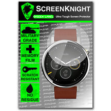 ScreenKnight Motorola Moto 360 2ND GEN 46MM SCREEN PROTECTOR invisible shield