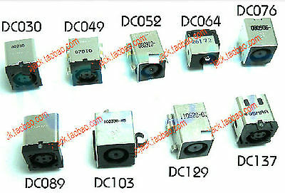 9 Kinds Lot Universal Common DC Power Jack Socket Connector For Dell Laptop 9pcs