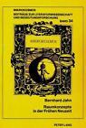Raumkonzepte in der Frühen Neuzeit von Bernhard Jahn (1993, Taschenbuch)