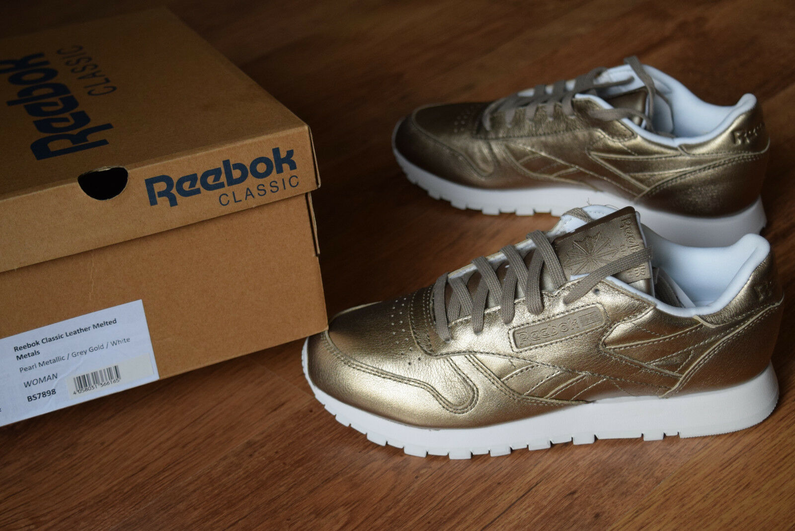 Reebok Classic Leather 36 37 38 38,5 metals 39 40 BS7898 melted metals 38,5 princess spirit fef46e