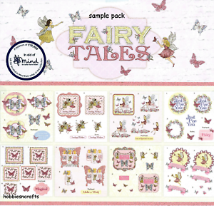 MAKE A WISH 8 SHEETS DOVECRAFT PREMIUM 8 X 8 DIE CUT DECOUPAGE SAMPLE PACK