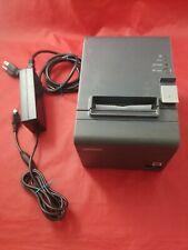 Epson Tm T20ii Usb Model M267d Serial Thermal Receipt Printer Power Adapter St