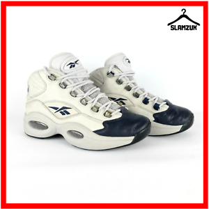 Reebok-QUESTION-1-Herren-Classic-Sneaker-UK-7-40-5-grau-blau-Iverson-Vintage