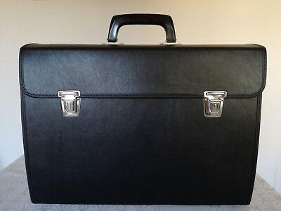 Handwerkertasche Große Profi Werkzeugtasche leer echt Leder Werkzeugkoffer