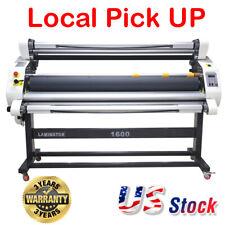 63 1600mm 0 20mmin Full Auto Cold Large Format Laminator Laminating Machine
