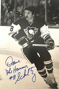 Pittsburgh-Penguins-Dave-The-Hammer-Schultz-Autographed-Photo