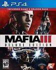 Mafia III: Deluxe Edition (Sony PlayStation 4, 2016)
