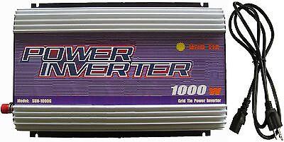 USA 1000W 1000 Watt Solar Grid Tie Inverter DC 22V-60V TO AC 110V/120V