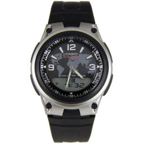 Casio-Mens-Quartz-Watch-with-Digital-amp-Analogue-Display-and-Black-Resin-Strap