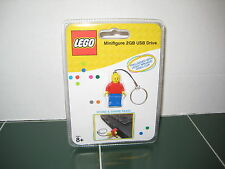 Lego Minifigue 2GB USB Drive Key Chain Store and Share Files