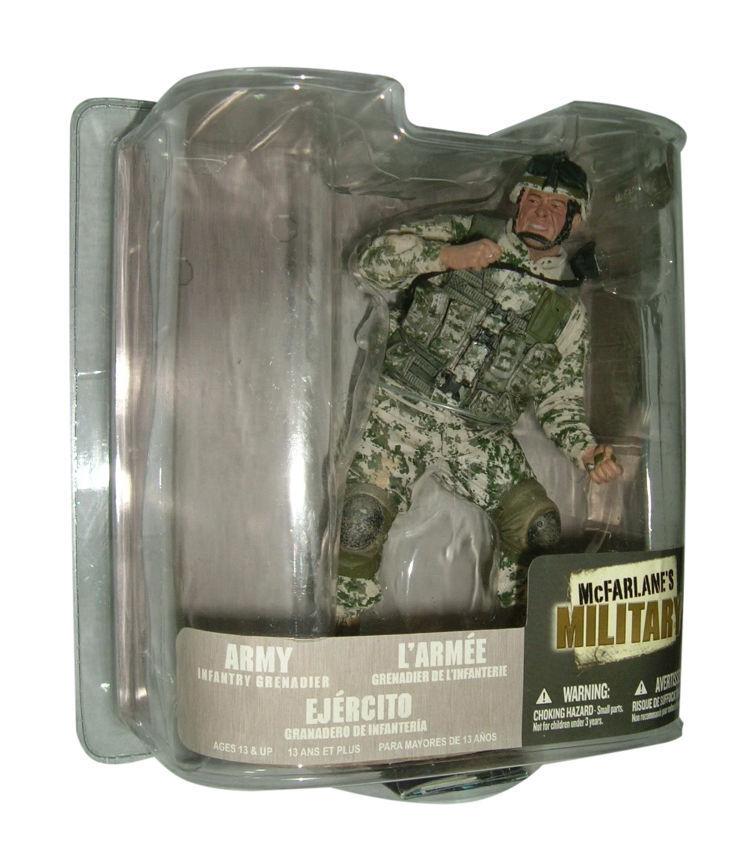 McFarlane Army Infantry Grenadier Action Figure