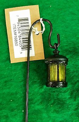 Miniature Dollhouse FAIRY GARDEN ~ Scrolled Metal Shepherd/'s Hook ~ NEW