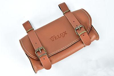 Velox Tradizionale Stile Sella Borsa Caramello-mod.- Sconti Prezzo