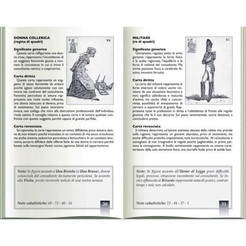 SIBILLA INDOVINA Orakel Karten Deck Valerio Ramponi Erzählen lo scarabeo Neu
