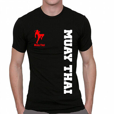 Fight Badboy Venum T-Shirt Football Jersey Black Man Muay Thai Boxing Sport