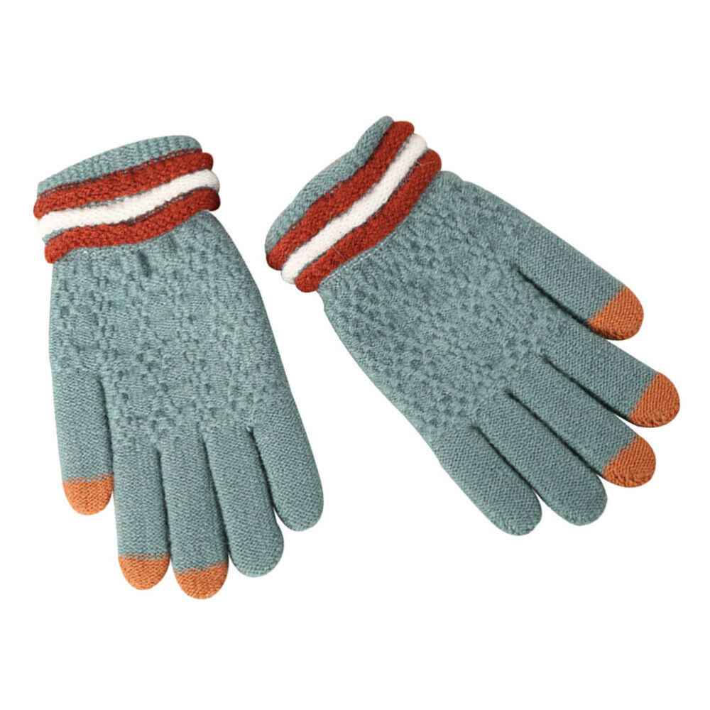 1 Pair Knitted Touch Screen Winter for Hiking Outdoor