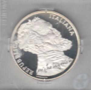"ITALIE - 2012 - 10 euros argent ""Michelangelo Buanorroti"""