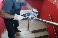 Rohrbandschleifer-Anbausatz für EINHELL TE-AG125 CE
